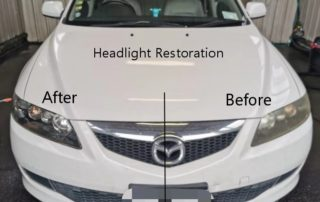 headlights restoreration