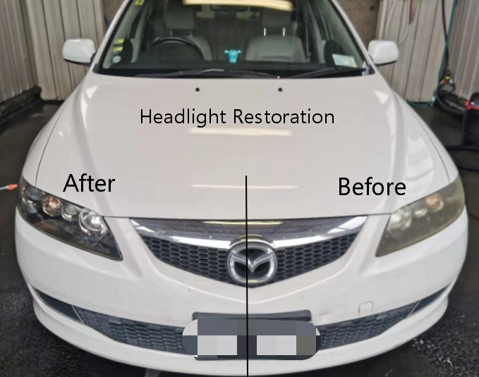 headlights restoreration
